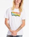 LEVI'S® Housemark Batwing Logo Psychedelic Tee (W)
