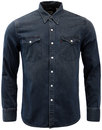 Barstow LEVI'S® Retro Denim Western Shirt Smokey