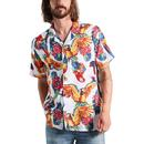 LEVI'S Cubano 70s Parrot Print Resort Collar Shirt