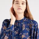 Hadley LEVI'S Jacobean Floral Paisley Blouse