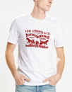 LEVI'S® Retro Vintage Horse Logo T-Shirt in White