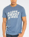 Levi's 60s In Love Revolution T-Shirt Blue