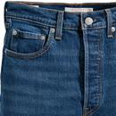 LEVI'S Retro 70s Denim Ribcage Boot Cut Jeans