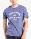 LEVI'S® I Was Saved By Rock 'N Roll Retro Mens Tee