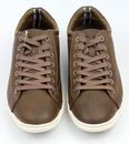LEVI'S® Retro Indie Mod Leather Low Trainers (Br)