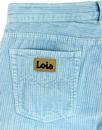 New Dallas LOIS 1980s Mod Jumbo Cord Trousers SB