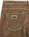 New Dallas LOIS Retro Mod Jumbo Cord Trousers (DS)