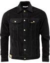 lois jeans tejana jumbo cord jacket Black