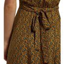 Cathleen LOUCHE Passionflower Vintage Tea Dress