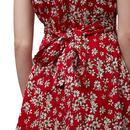 Cathleen LOUCHE Retro Vintage Azalea Tea Dress