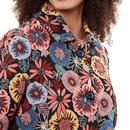 Dryden LOUCHE 60s Flower Power Jacquard Short Coat
