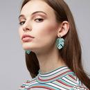 Stephani LOUCHE Vintage Tortoise Shell Earrings G