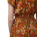 Unity LOUCHE Retro 70s Boho Midi Summer Dress