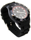 luke 1977 grimaud retro 70s sports watch black