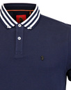 Turtles Head LUKE 1977 Retro Stripe Collar Polo N