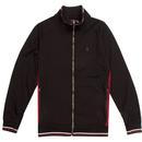 Acklom LUKE Mens Tipped Funnel Neck Track Jacket B