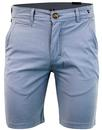 luke 1977 corbitt retro mod chino twill shorts