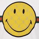 LUKE x SMILEY Happy Days Retro Rave Tee (White)