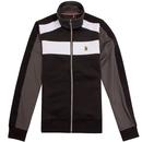 luke 1977 sport rethorpes colour panel track jacket black