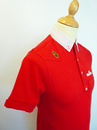 Vegas LUKE 1977 Retro Mod Shirting Collar Polo SR