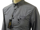 White Lion LUKE 1977 Military Indie Gingham Shirt