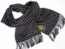 Spikey LUKE 1977 Retro Mod Silk Lion Logo Scarf BS