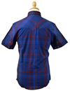 Wobble LUKE 1977 Retro Mod Military Check Shirt