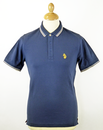 Pedigrees LUKE Denim Retro Mod Pique Polo Top (MM)