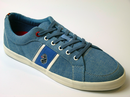 LUKE 1977 RETRO MOD INDIE DEWEY TRAINERS CHAMBRAY