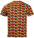 The Jordan LUKE 1977 Retro Geometric Prism T-shirt