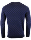 LYLE & SCOTT 60s Mod Jacquard Geo Triangle Jumper