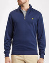 lyle and scott retro tricot quarter zip track top