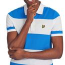LYLE & SCOTT Retro Wide Stripe Pique Polo Shirt RB