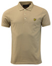lyle & scott polo shirt stone mod