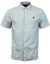 LYLE & SCOTT Retro 60s Textured Stripe S/S Shirt