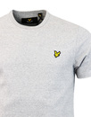 LYLE & SCOTT Retro Indie Plain Logo Tee GREY