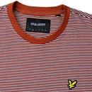 LYLE & SCOTT Men's Retro Feeder Stripe T-Shirt BS