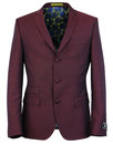 MADCAP ENGLAND Mohair Tonic 3 Button Suit Jacket