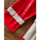 Robin MADCAP ENGLAND Mod 2 Tone PVC Raincoat (Red)