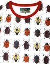 Beetlebum MADCAP ENGLAND Mens Beetle Print T-shirt