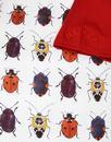 Beetlebum MADCAP ENGLAND Womens Beetle Print Tee