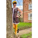 Blur MADCAP ENGLAND Centre Stripe 60s Mod Dress