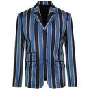 Offbeat MADCAP ENGLAND Mod Striped Flared Suit