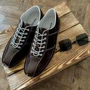 All Up MADCAP ENGLAND Mod Bowling Shoes (Brown)