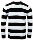 Jones MADCAP ENGLAND 60s Mod Block Stripe Jumper W