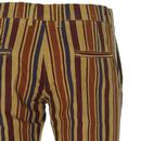 Psycho MADCAP ENGLAND Striped Slim Cord Trousers
