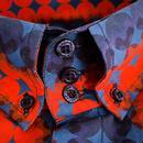 Diamond Dots MADCAP ENGLAND Mod High Collar Shirt
