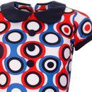 Dollierocker Psych-Out! MADCAP ENGLAND Mod Dress