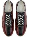 The Dude MADCAP ENGLAND Retro Mod Bowling Shoes