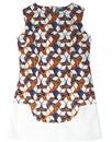 Sun Daisy MADCAP ENGLAND Geo Retro Floral Dress